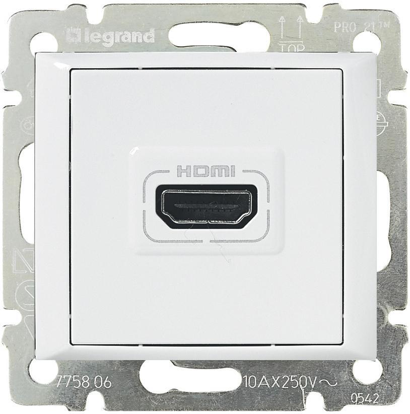 HDMI розетка Legrand ccb5a1a1-e1cd-11e4-b82b-00155d61e504