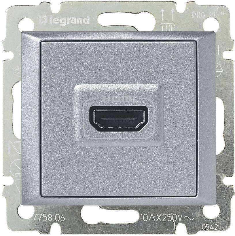 HDMI розетка Legrand ccb5a1c1-e1cd-11e4-b82b-00155d61e504